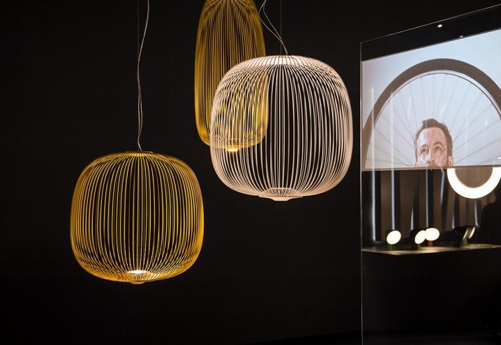 Spokes pendant lamps by Garcia Cumini