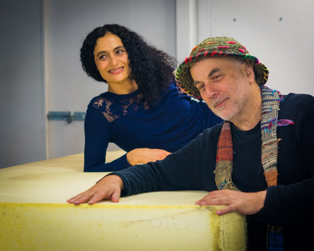 Jasmin Vardimon and Ron Arad.