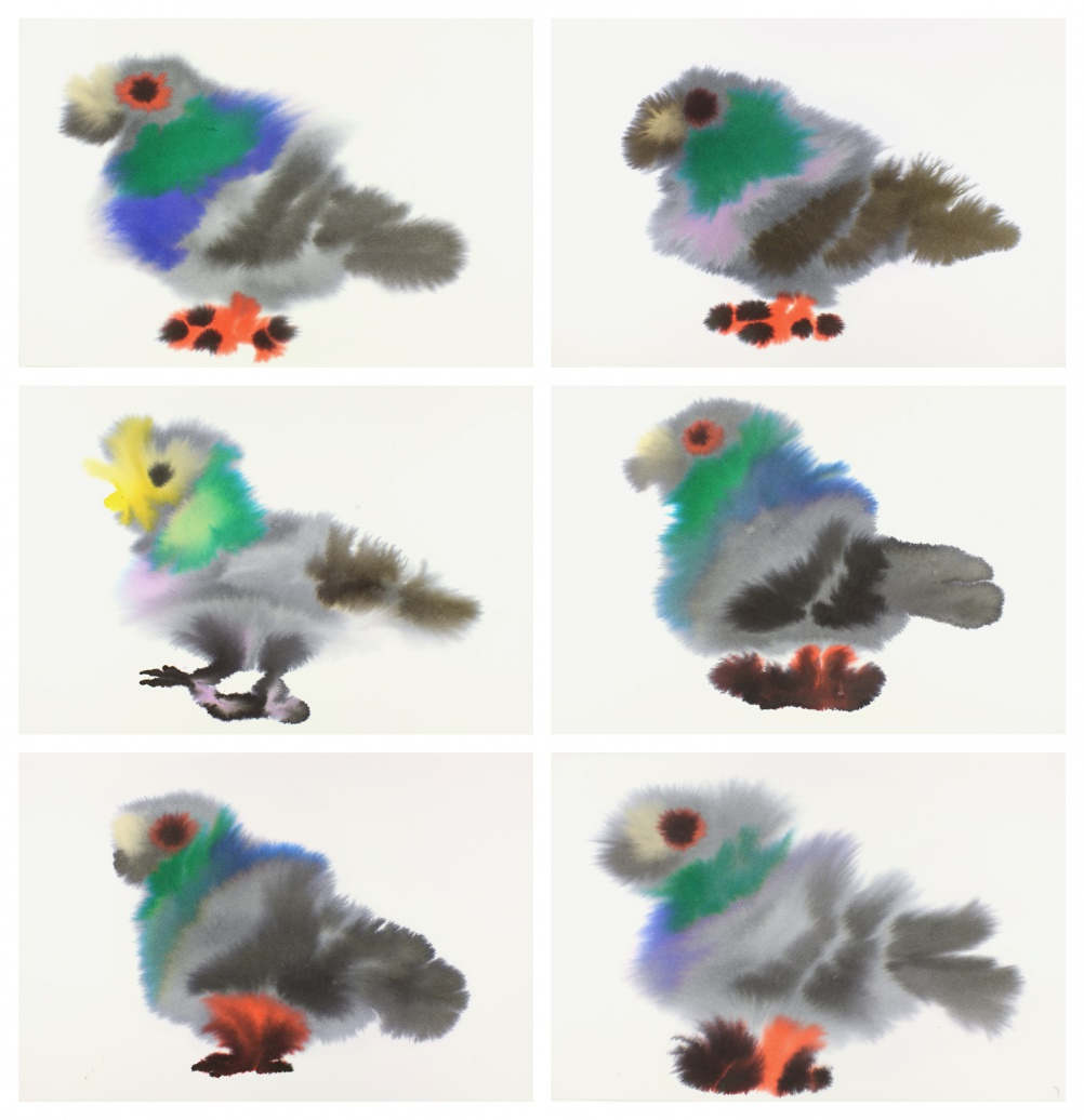 Pigeon Series, by Rop van Mierlo