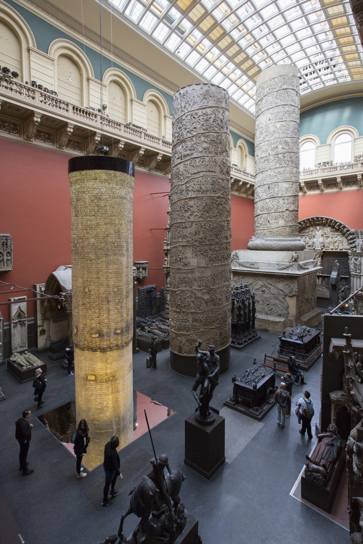 The Ethics of Dust: Trajan's Column © Peter Kelleher/Victoria & Albert Museum, London 2015