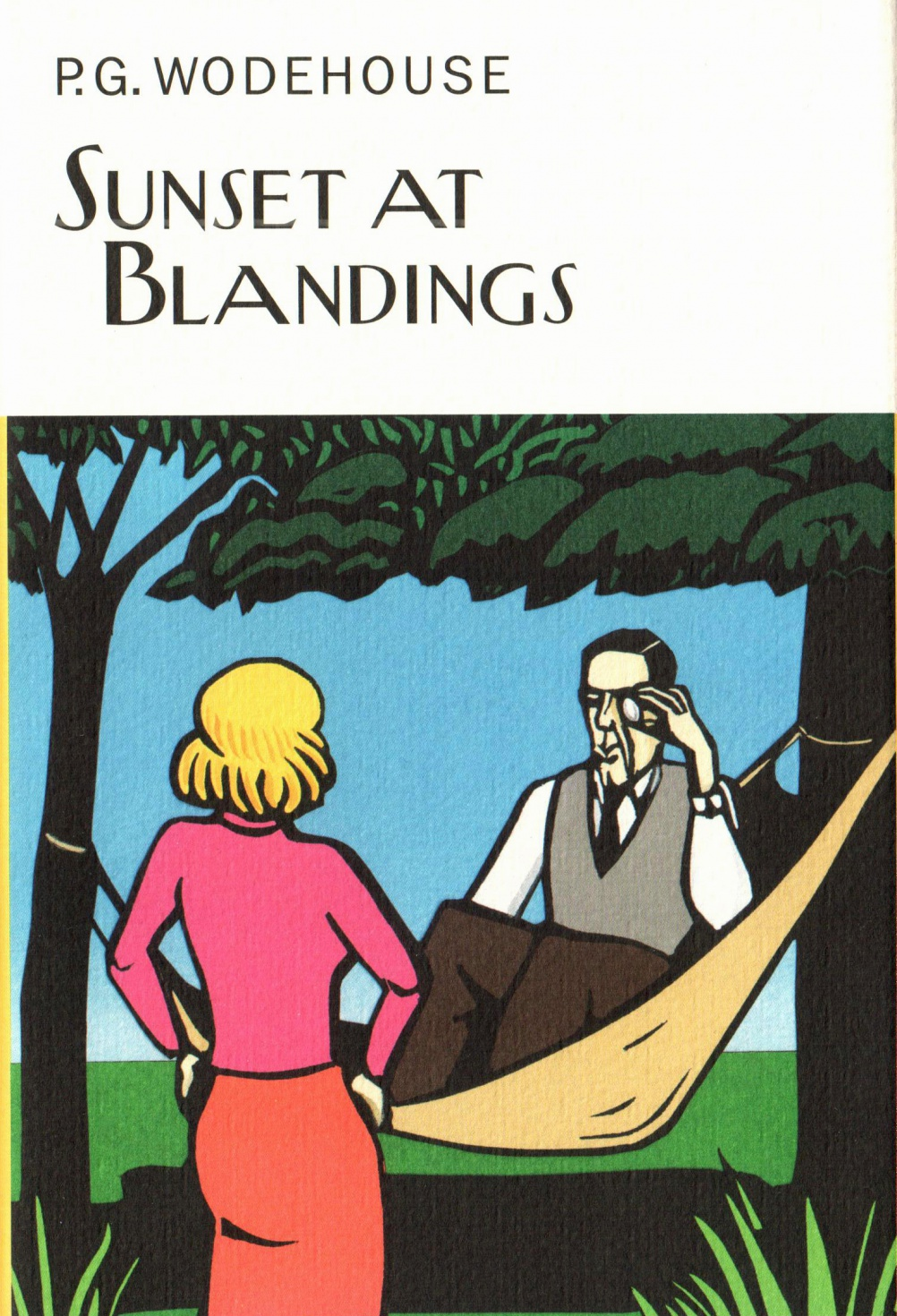 97 Sunset at Blandings