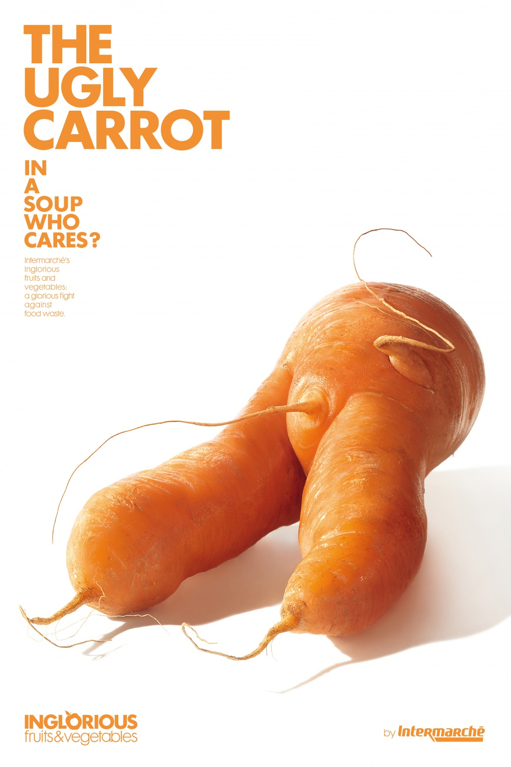 Graphics: Inglorious Fruits and Vegetables, by Marcel for Intermarché