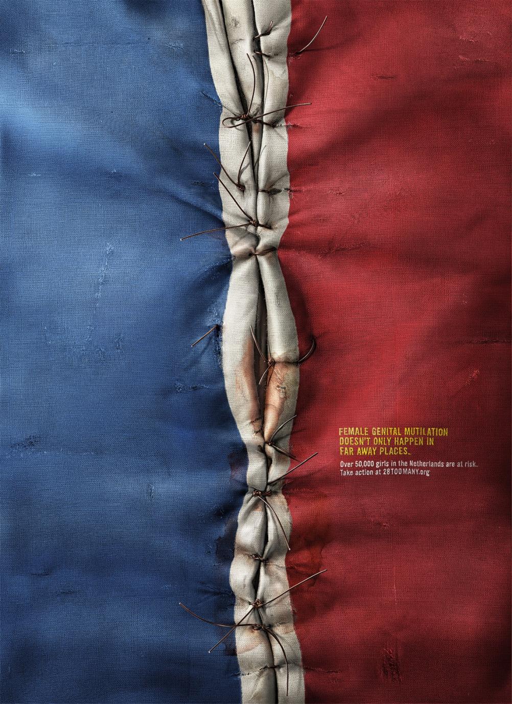 It Happens Here campaign - Dutch flag