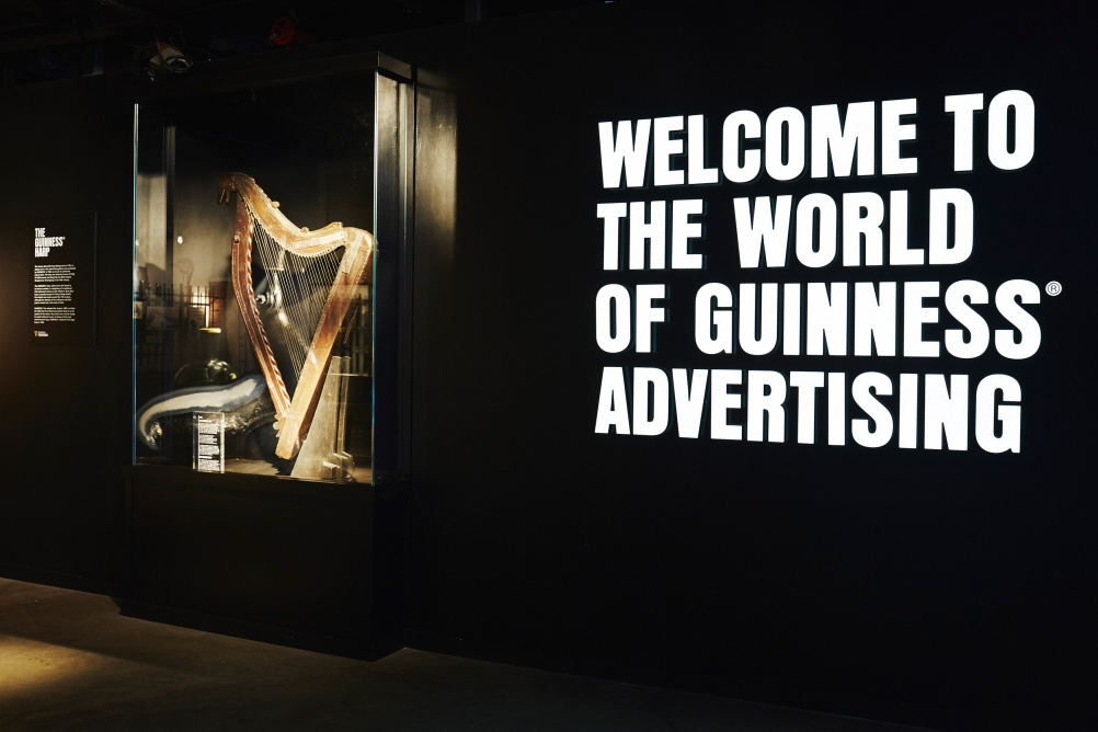 GUINNESS STOREHOUSE harp