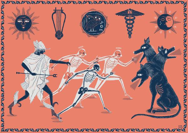 Hermes by Llew Mejia