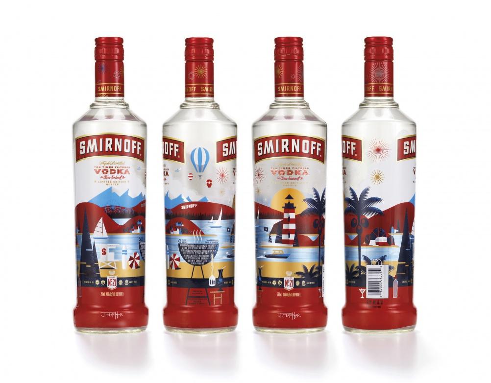 Smirnoff Summer Edition x4