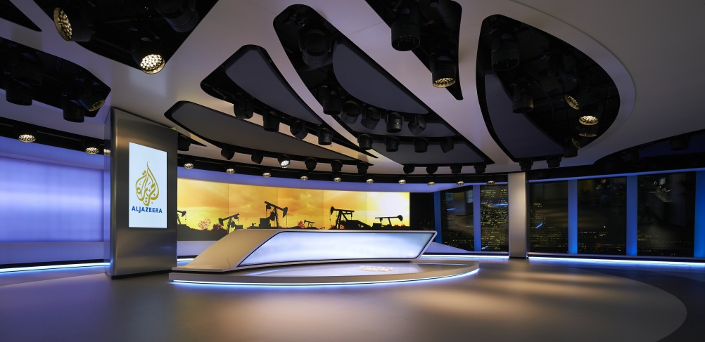 Veech Media_Al Jazeera Studio_The Shard_London_©Hufton+Crow_010