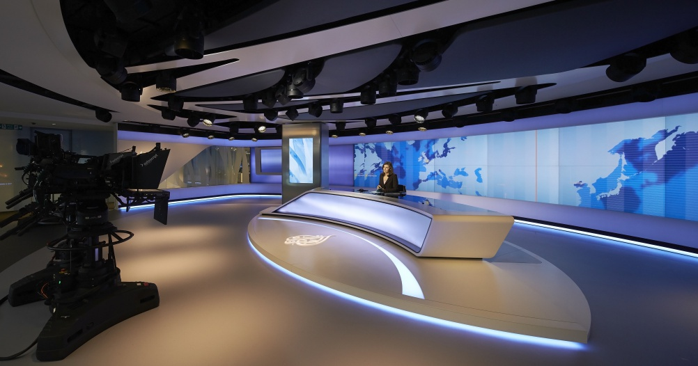 Veech Media_Al Jazeera Studio_The Shard_London_©Hufton+Crow_016