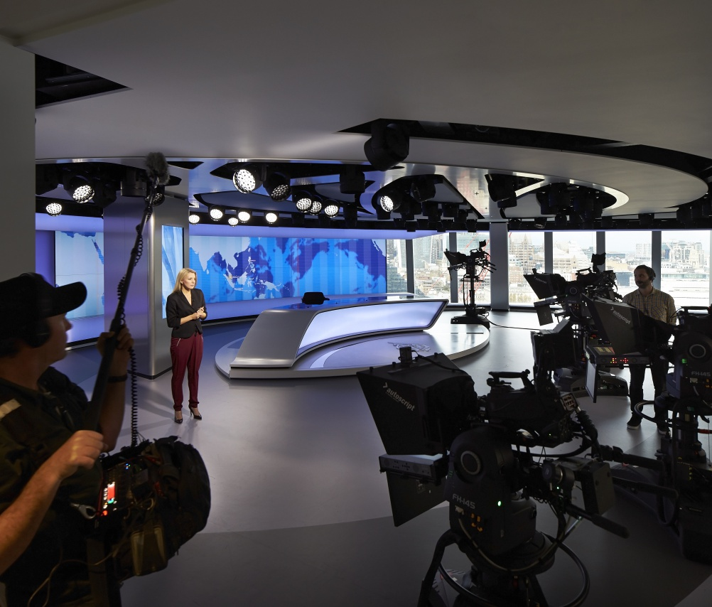 Veech Media_Al Jazeera Studio_The Shard_London_©Hufton+Crow_017