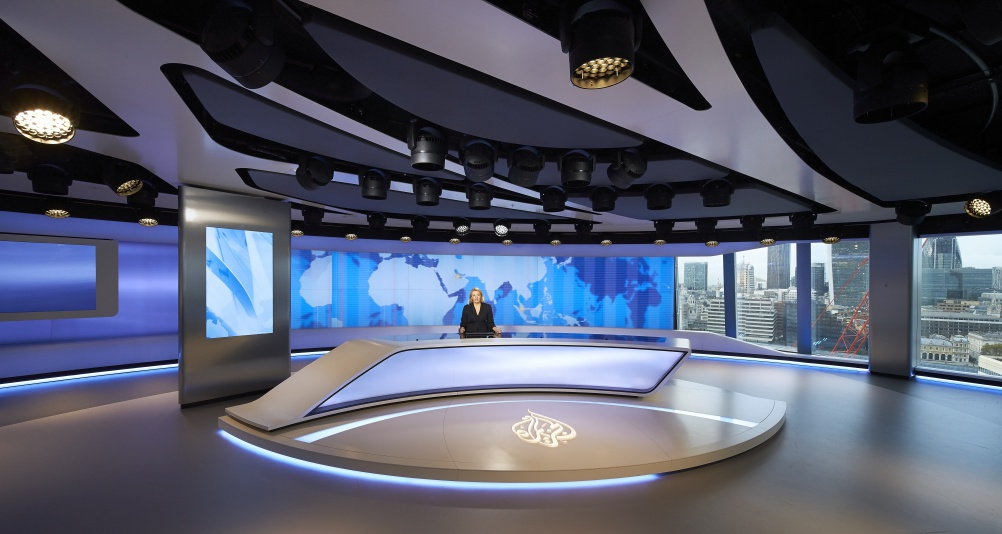 Veech Media_Al Jazeera Studio_The Shard_London_©Hufton+Crow_018