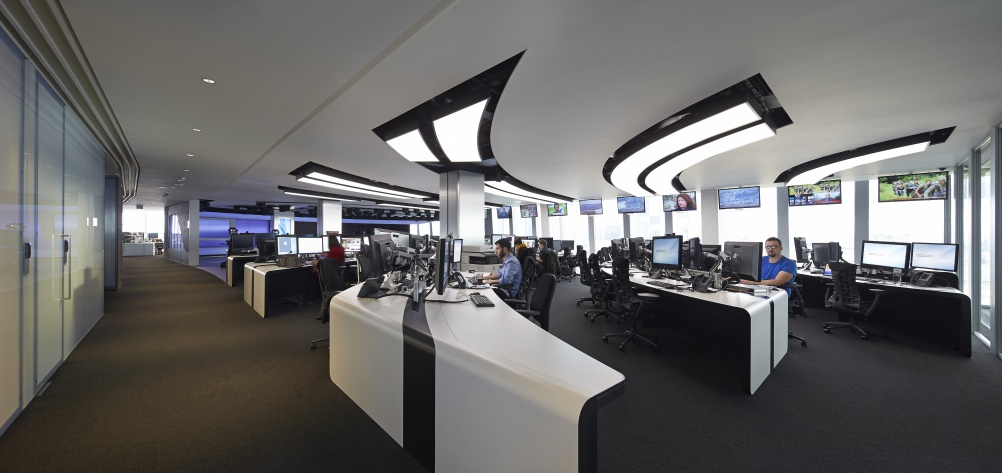 Veech Media_Al Jazeera Studio_The Shard_London_©Hufton+Crow_020