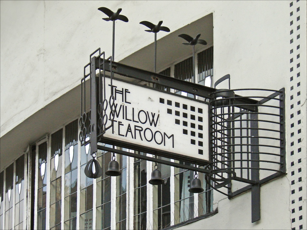 The Willow Tearoom on Sauchiehall Street. Image by flickr user Jean-Pierre Dalbéra