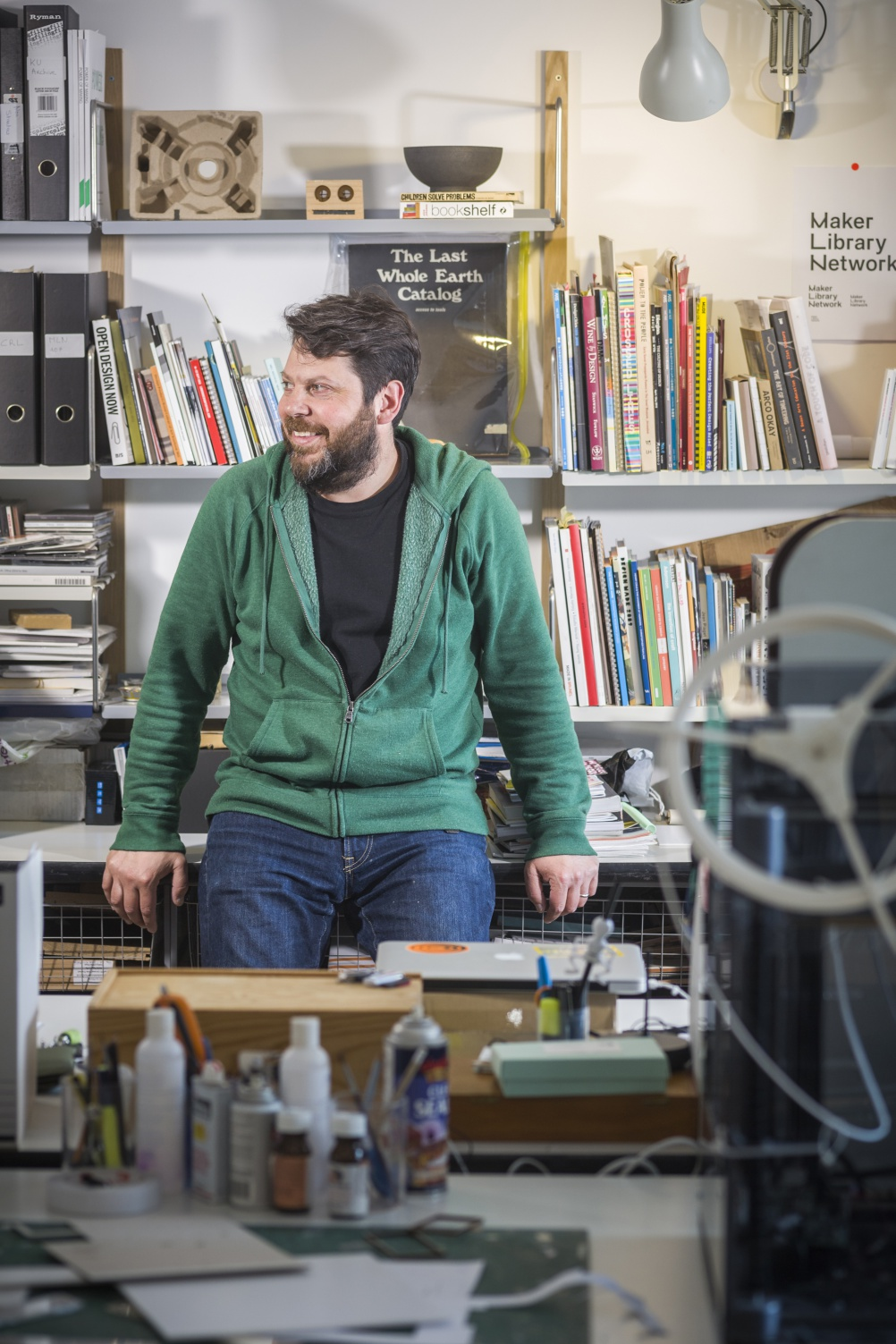 Daniel Charny, Professor of Design, Kingston University and director, From Now On