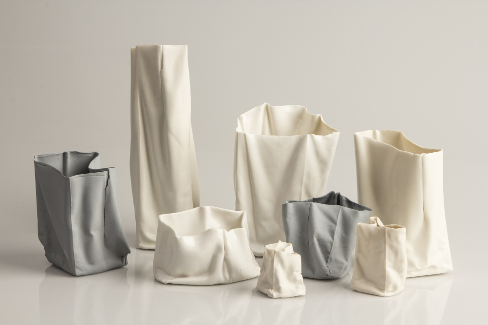 Emily Patricia Wiles, 'Creased' Vessels, New Designers 2015 - One Year On