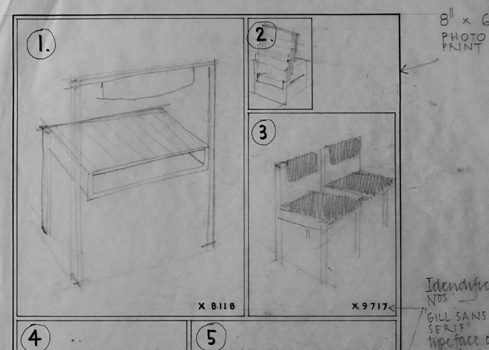 The original design plans
