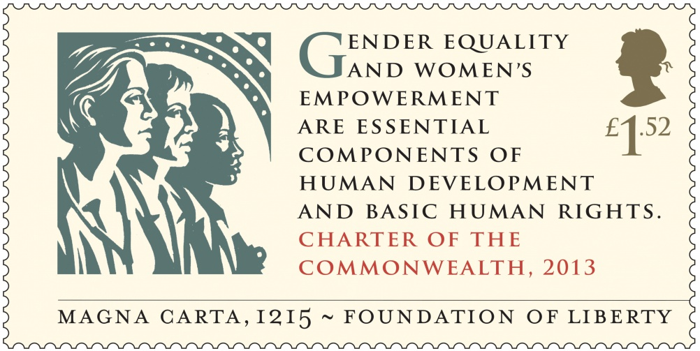 Magna Carta - Charter of the Commonwealth 2013 Stamp 400_1