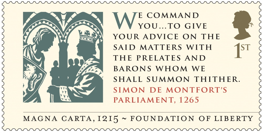 Magna Carta - Simon De Montfort Stamp 400
