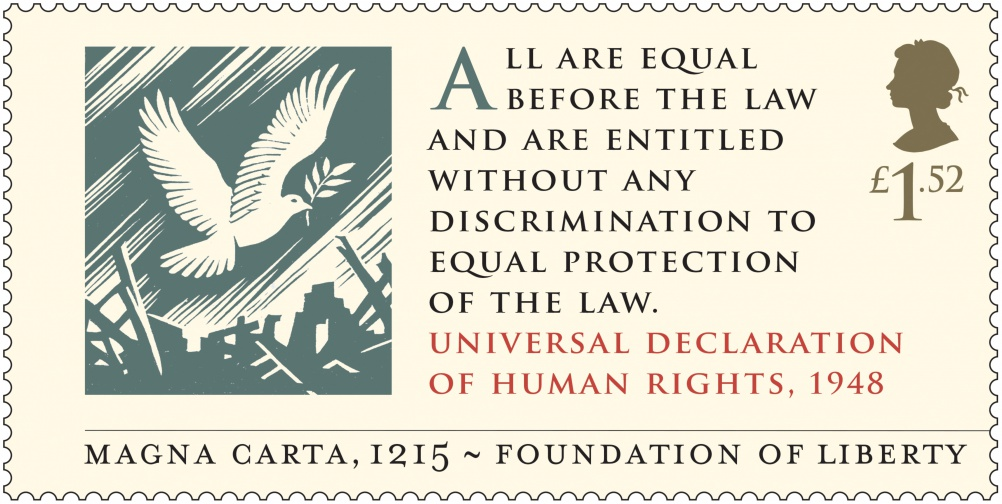 Magna Carta - Universal Human Rights 1948 Stamp 400