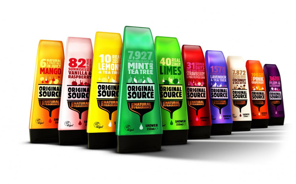 A Squeaky Clean Brand Identity For Original Source Shower Gel   Design Week