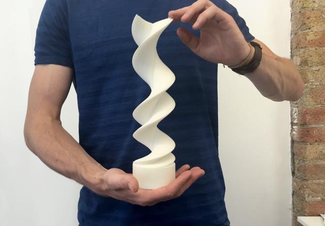 A DNA sculpture prototype