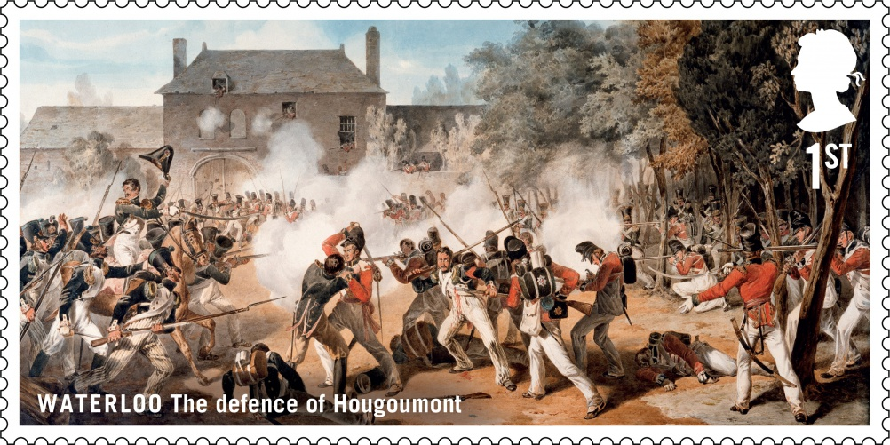 Waterloo Hougoumont stamp