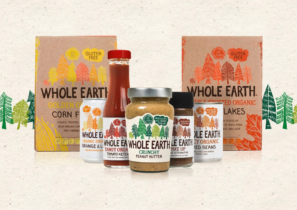 Whole Earth product Selection A4