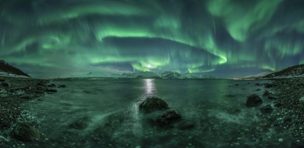 Aurora Panorama 3 © Jan R. Olsen