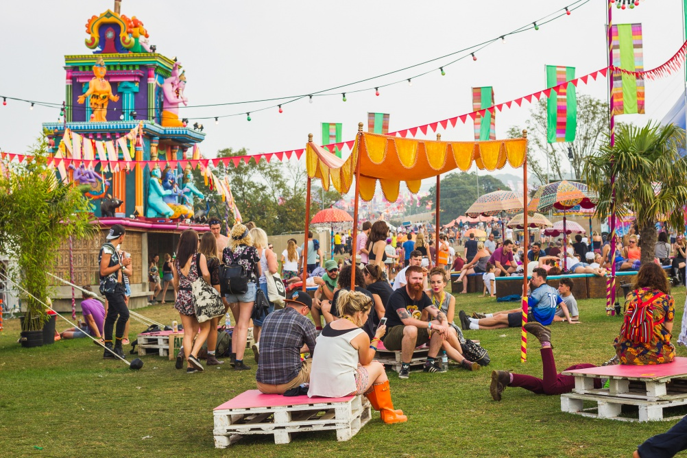 Design set at Bestival 2014
