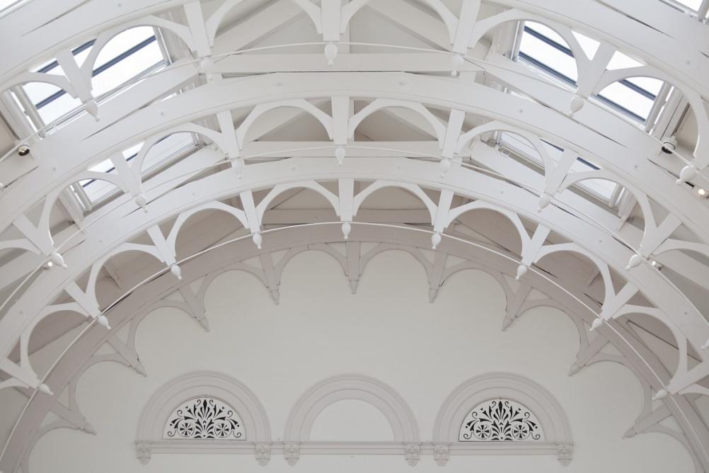 Building - Upstairs Gallery York Art Gallery by Peter Heaton