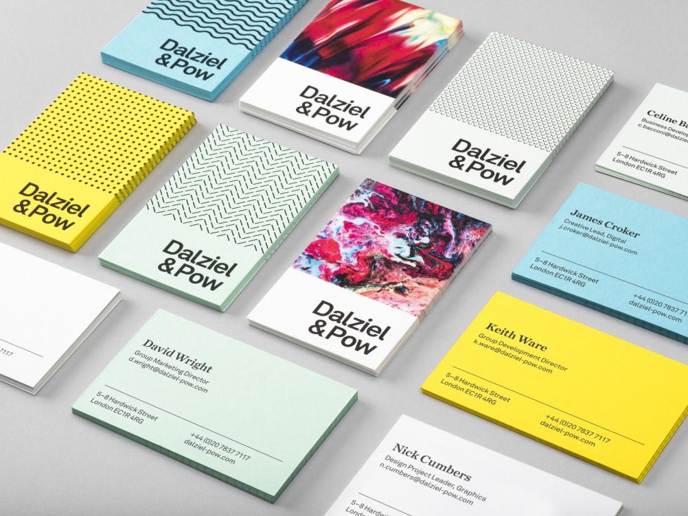 Dalziel & Pow's new branding