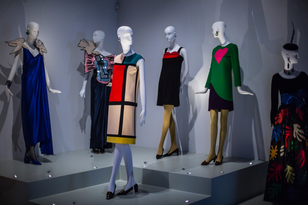 Install shot of Yves Saint Laurent Style is Eternal at the Bowes Museum (c) Andy Barnham (2)