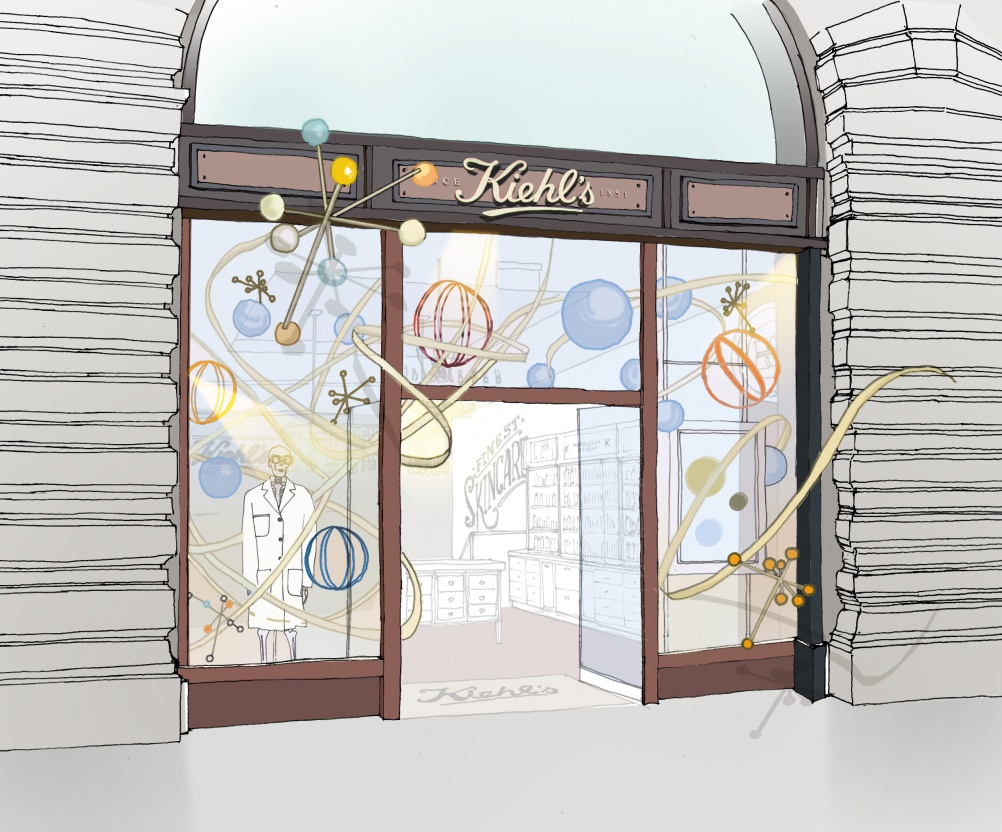 Michaelis Boyd Associates x Kiehl's © Michaelis Boyd Associates