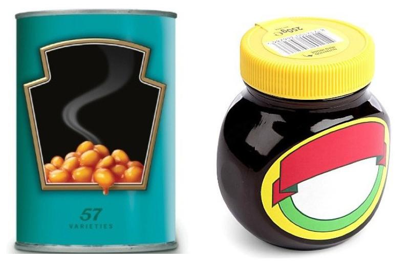 Heinz and Marmite de-brand for Selfridges