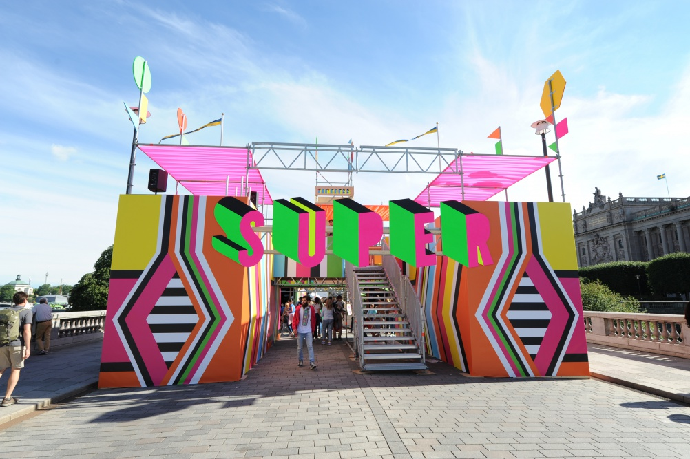 02a_SUPERSTRCUTURE, Morag Myerscough & Luke Morgan, Photo Luke Morgan