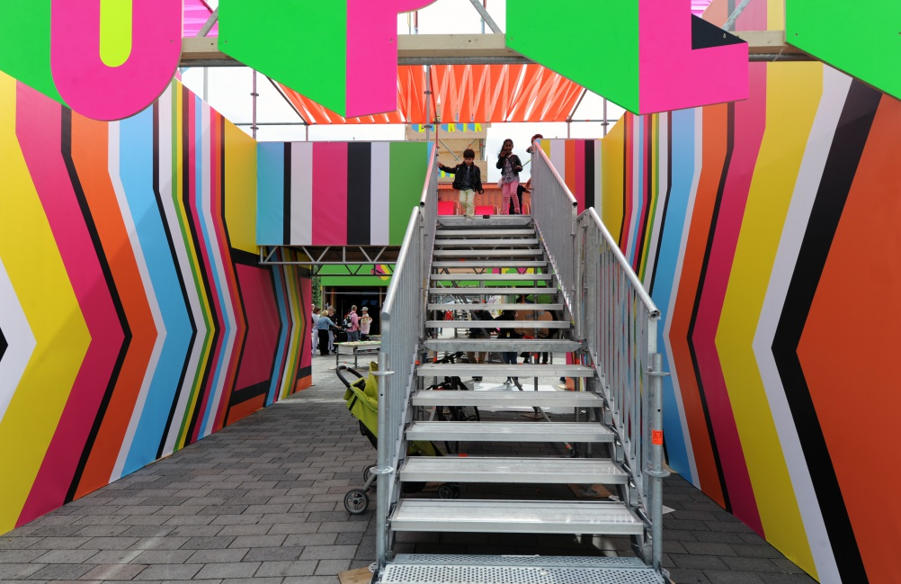 03-SUPERSTRUCTURE, Morag Myerscough & Luke Morgan, photo Luke Morgan