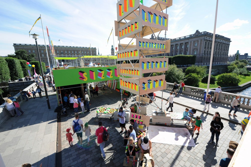 04_SUPERSTRUCTURE, Morag Myerscough & Luke Morgan. Photo Luke Morgan