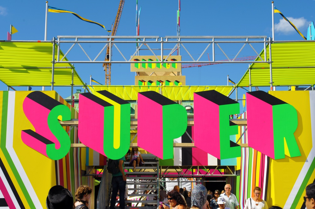 19_SUPERSTRUCTURE, Morag Myerscough & Luke Morgan, photo Luke Morgan