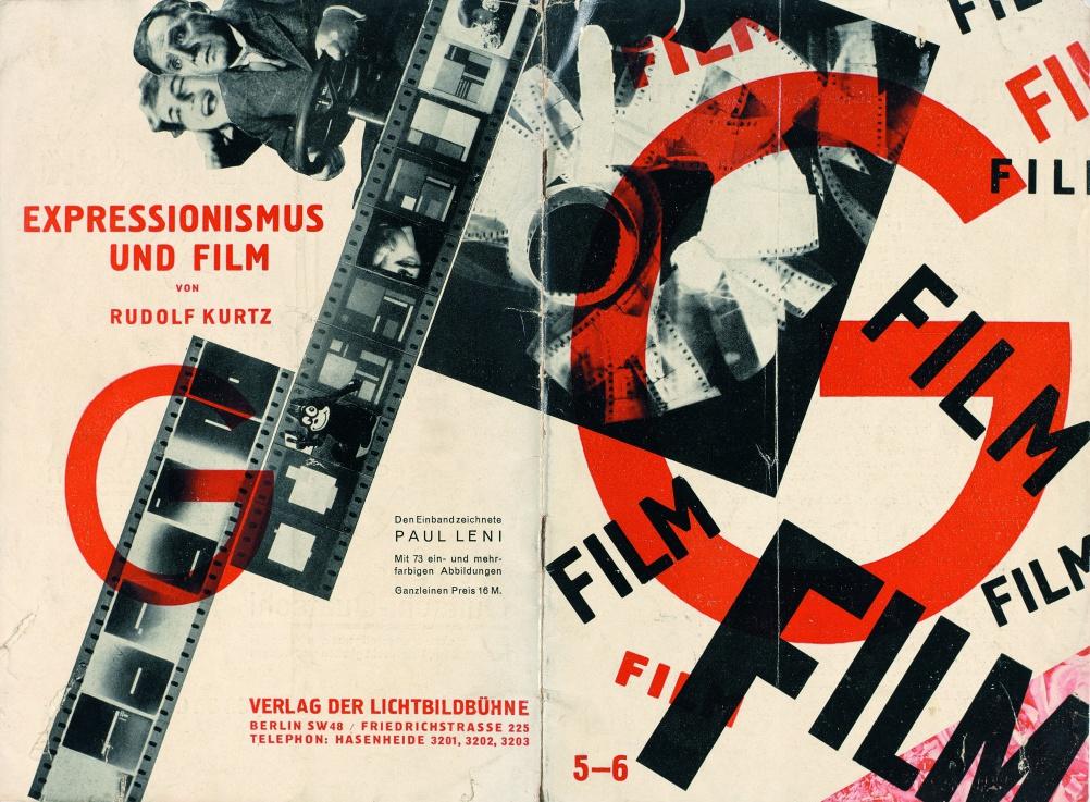 G. Zeitschrift für elementare Gestaltung.  Edited by Hans Richter.  No. 5/6: Film. Berlin (independently published, 1926).  Cover by Paul Leni.