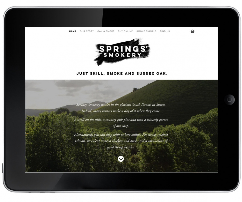 8 Springs'-Website 1