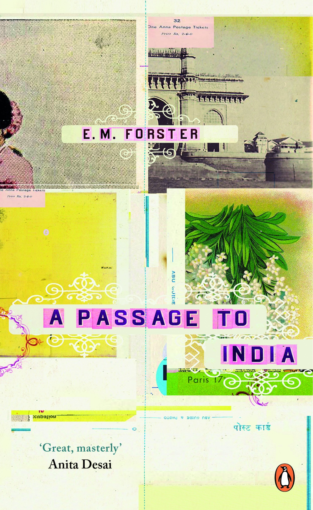 A Passage to India by E.M Forster. Cover by Ali Campbell