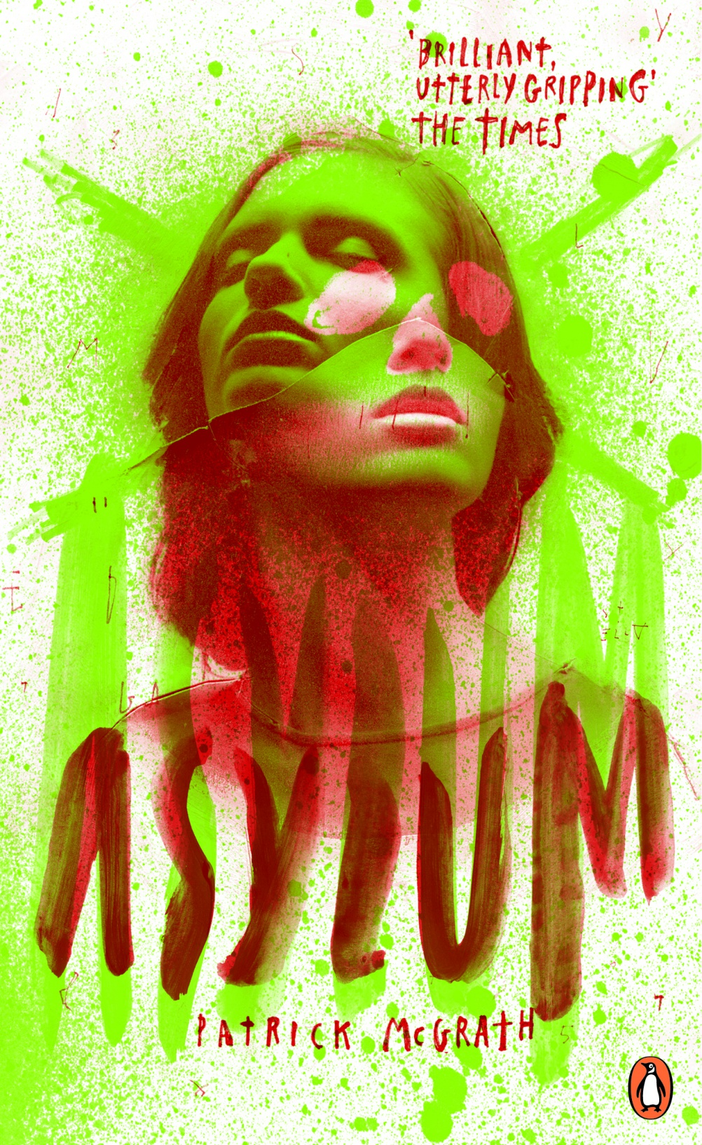 Asylum by Patrick McGrath. Cover by Attak