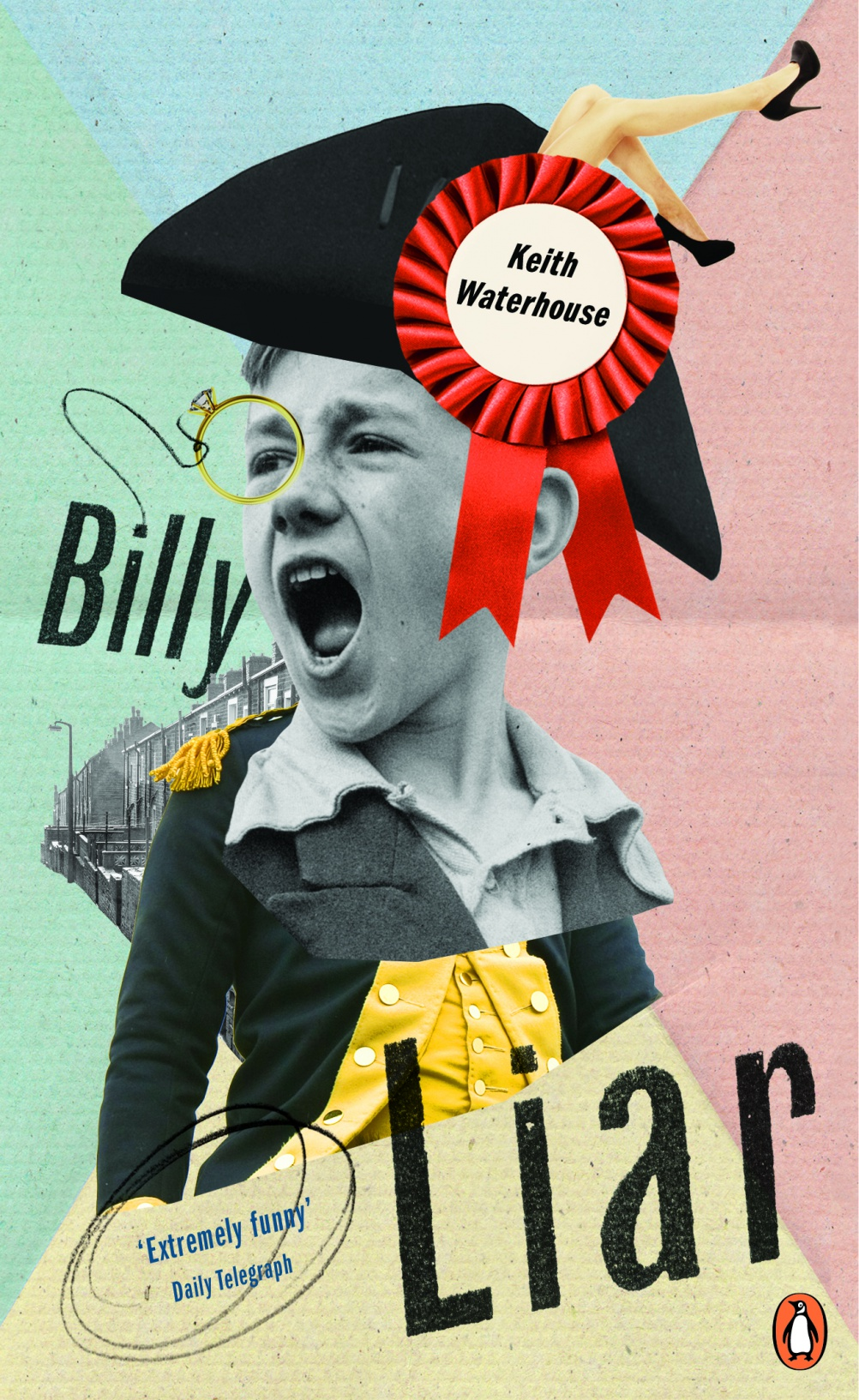 Billy Liar by Keith Waterhouse. Cover by Rol Overwekk