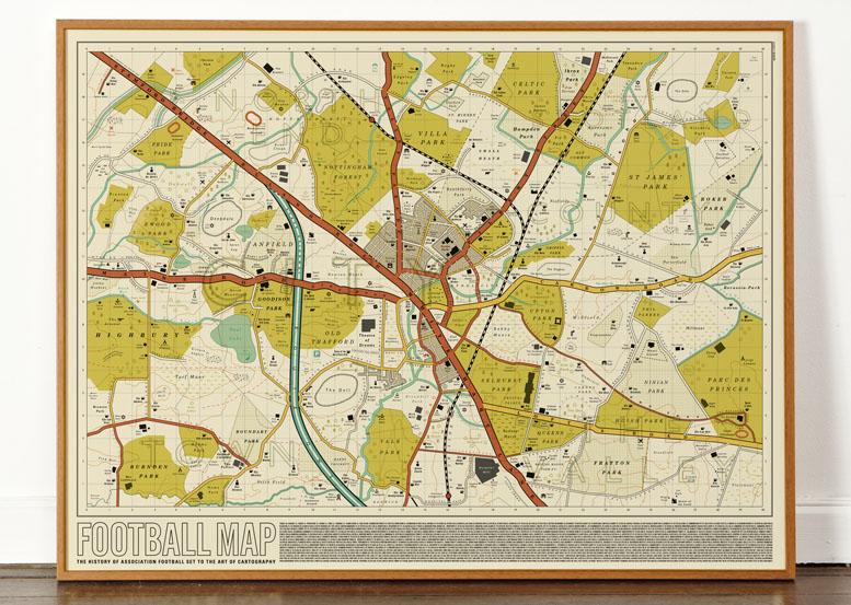 Dorothy 0100 Football Map C Web Frame