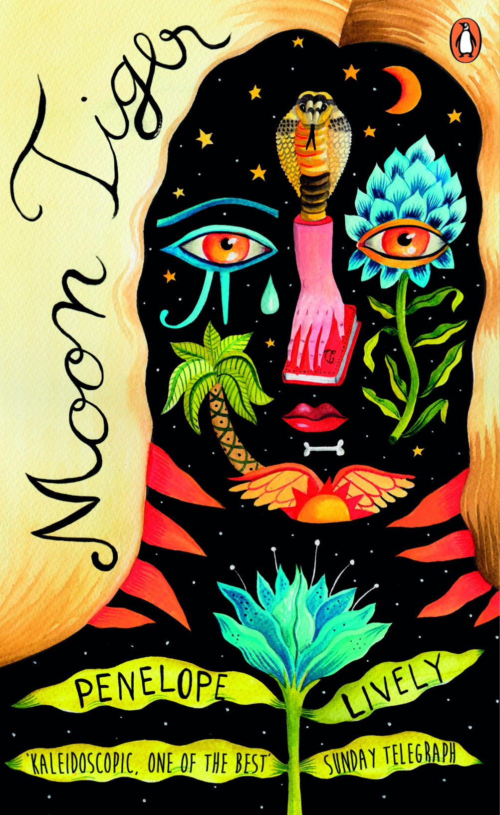 Moon Tiger by Penelope Lively. Cover by Aitch