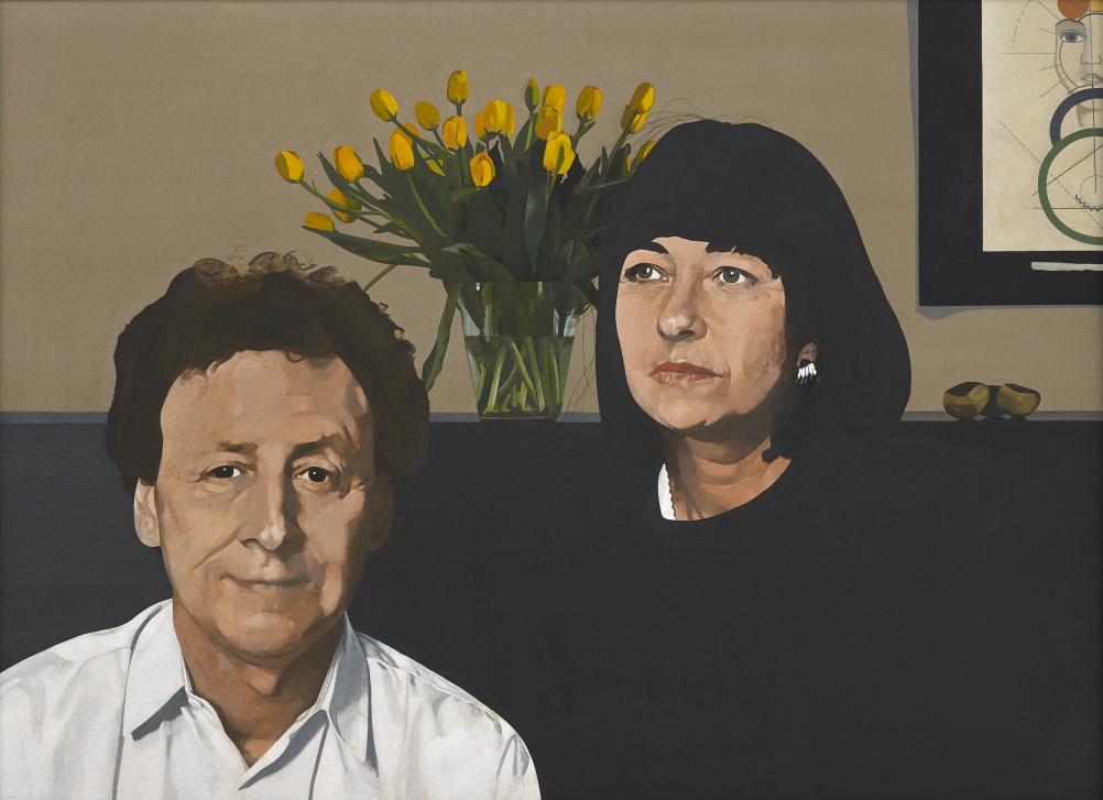 Peter Blake, Leslie and Clodagh Waddington, 1996, oil on canvas
