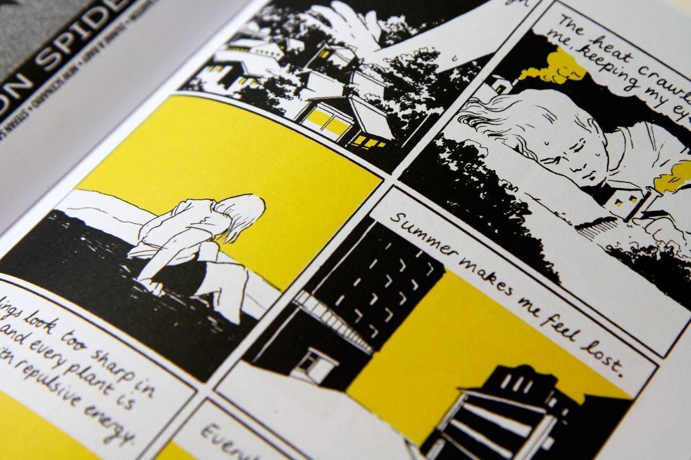 Tillie Walden close up
