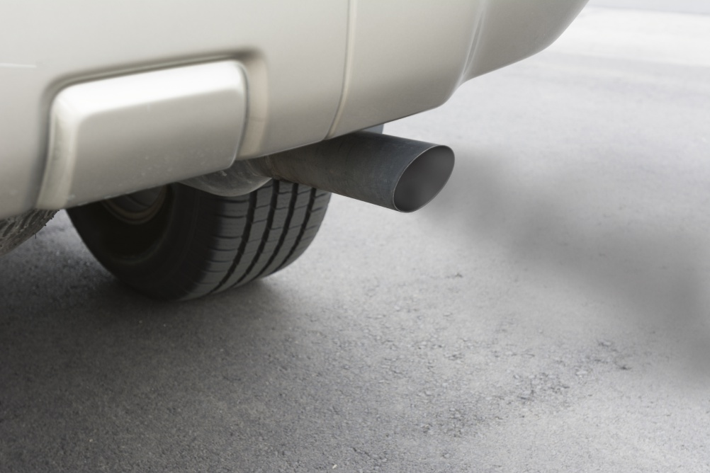 Car emissions exhaust