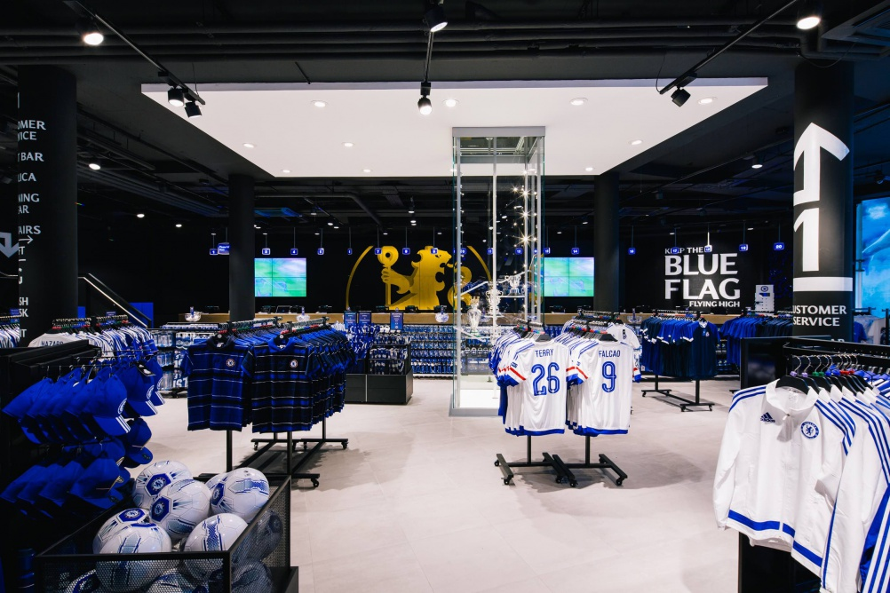 rpa group _Chelsea_Megastore_London_Football_Fanshop