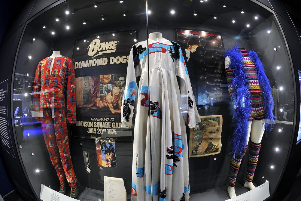The museum's memorabilia will include David Bowie's Ziggy Stardust costumes