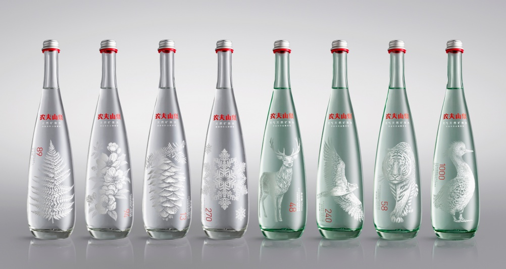 Horse's Nongfu Mineral Water picked up a Platinum Pentaward